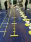 健身房地面铺设地垫功能地胶PVC运动地板